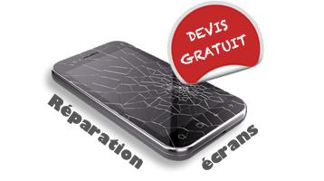 Réparation vitres smartphone